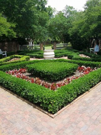 One of the beautiful gardens.