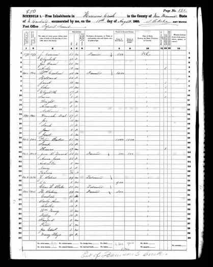 1860 census
