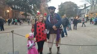 Michelle and Caite with Blackbeard