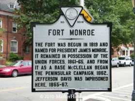 w-90 fort monroe